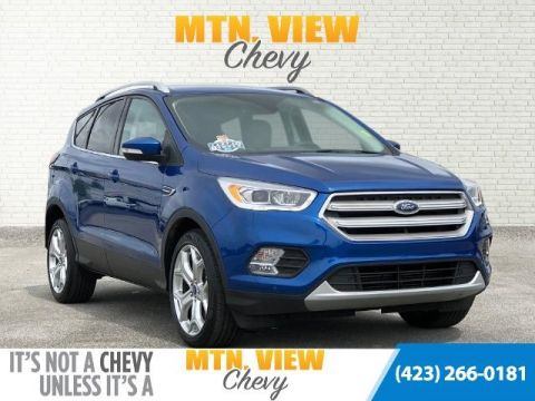 Pre-Owned 2019 Ford Escape Titanium 4WD 4D Sport Utility