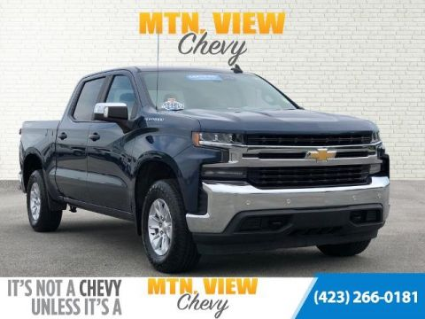 Certified Pre-Owned 2019 Chevrolet Silverado 1500 LT 4WD 4D Crew Cab