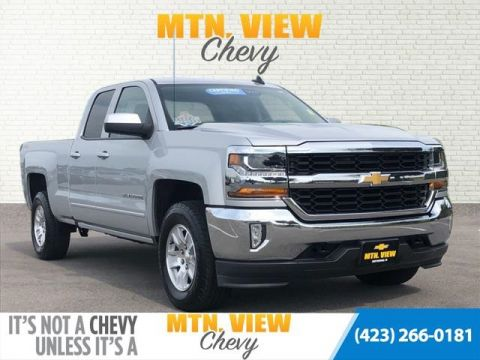 Certified Pre-Owned 2017 Chevrolet Silverado 1500 LT 4WD 4D Double Cab