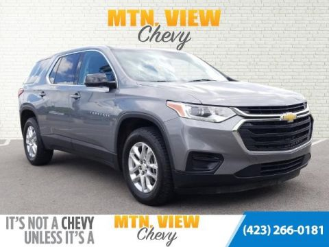 Pre-Owned 2018 Chevrolet Traverse LS FWD 4D Sport Utility