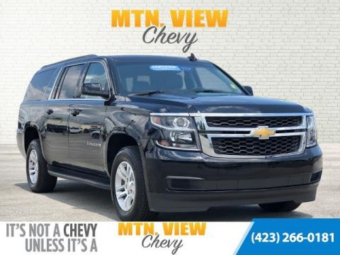 Certified Pre-Owned 2019 Chevrolet Suburban LT 4WD 4D Sport Utility