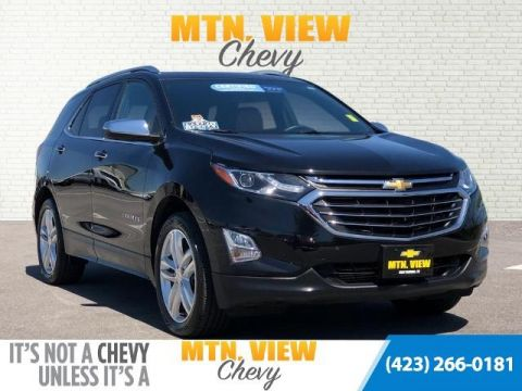 Certified Pre-Owned 2018 Chevrolet Equinox Premier AWD 4D Sport Utility